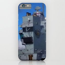 HMS Prince of Wales Aft Island iPhone Case