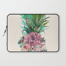 Floral Pineapple Laptop Sleeve