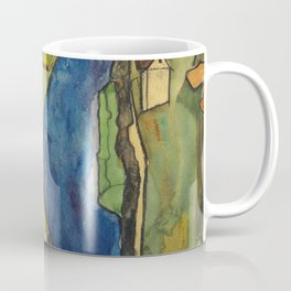 "Egon Schiele ""Stadt am blauen Fluss (Town on the blue river)"" Coffee Mug"