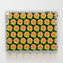 Sunflower Pattern_C Laptop & iPad Skin