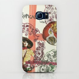 tropical week iPhone Case