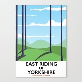 East Riding of Yorkshire Canvas Print