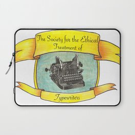The Society for the Ethical Treatment of Typewriters Laptop Sleeve