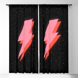 Thunderbolt: Glowing Astro Edition Blackout Curtain