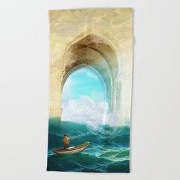 The Veil of Mists Beach Towel