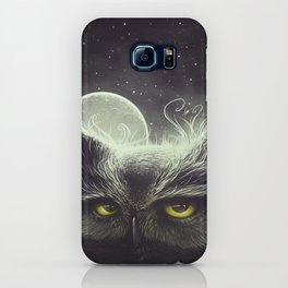 Owl & The Moon iPhone Case