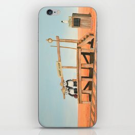 Outback Train Station iPhone Skin