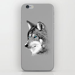 Sketch Wolf iPhone Skin