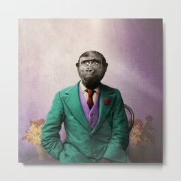 Bradley was a Young Gorilla with BIG Dreams Metal Print