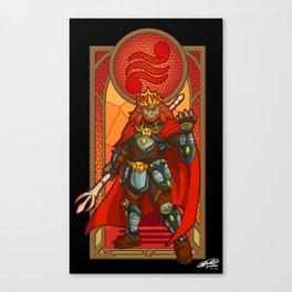 Ganondorf Villain of Power Canvas Print