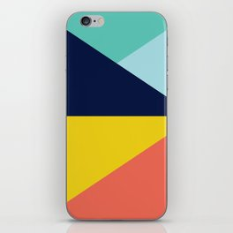 Colorful pattern XII iPhone Skin