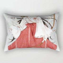 Japonese fight art Rectangular Pillow