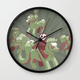 My Little Apocalypse Wall Clock