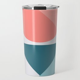 Geometric Form No.1 Travel Mug