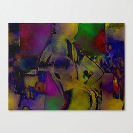 Cyber Dancer Taste the Rainbow Canvas Print