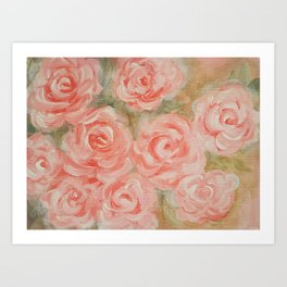 Floral Medley Art Print