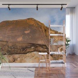 Desert Rock Art - Petroglyphs - IIa Wall Mural