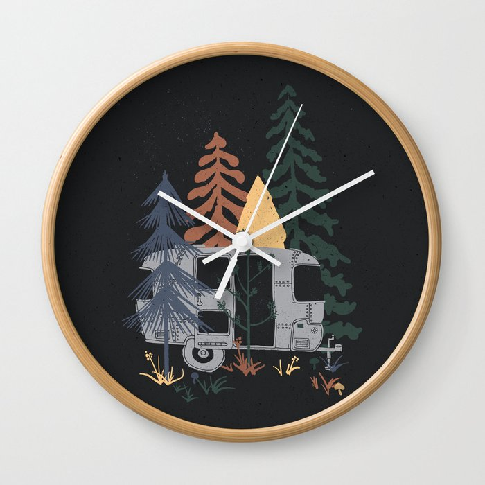 Wild Airstream    Wall Clock