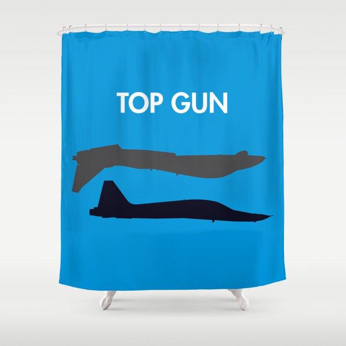 Top Gun Shower Curtain By Notthatmikemyers