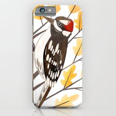 Downy Woodpecker iPhone 6s Slim Case