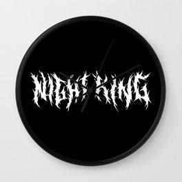 Night King Logo Wall Clock
