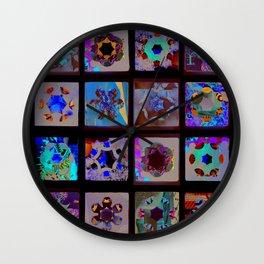 paper quilt Wall Clock