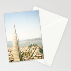 Transamerica Pyramid, San Francisco Stationery Cards