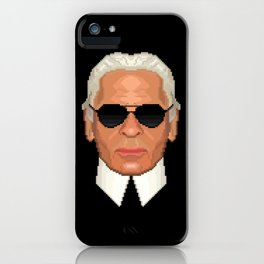 Lagerfeld iPhone Case