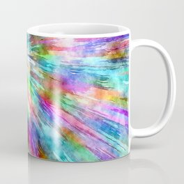 Colorful Tie Dye Watercolor Coffee Mug