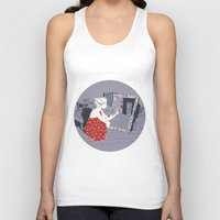 mirror Tank Tops featuring mirror by liva cabule