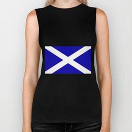 Scottish Flag Biker Tank