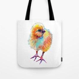Yellow Chick Tote Bag