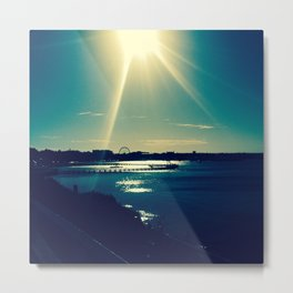 Funday Sundays Metal Print