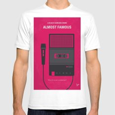No781 My Almost Famous minimal movie poster White MEDIUM Mens Fitted Tee