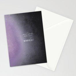 wander {violet Stationery Cards