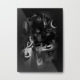 Impossible Chase Metal Print