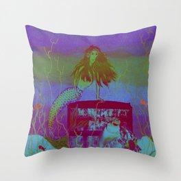 Collaborative Calliope Throw Pillow