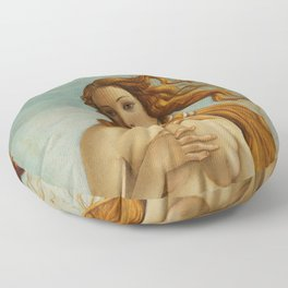 "Sandro Botticelli ""The Birth of Venus"" 2. Floor Pillow"