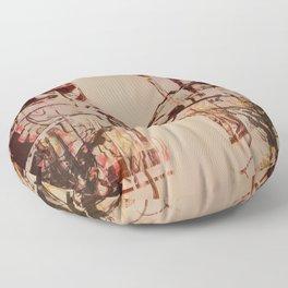 Two Thousand Sixteen Floor Pillow