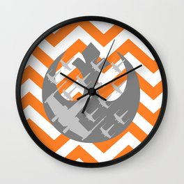 Star Wars Wraith Squadron and Chevrons Wall Clock