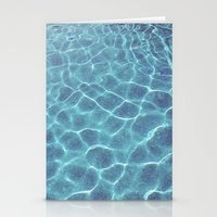 swimming Stationery Cards featuring swimming by christinekatlyn