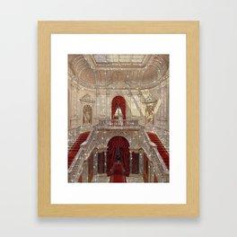 Shiny palace Framed Art Print