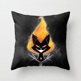 NightmareNetty (Galaxy) Throw Pillow