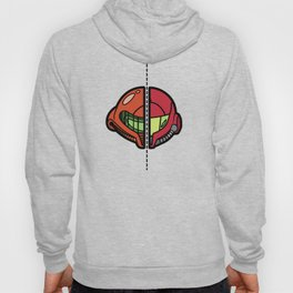 Old & New Samus Aran Hoody