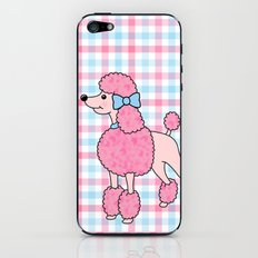 Pink Poodle iPhone & iPod Skin
