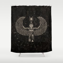 Isis Egyptian Goddess Shower Curtain