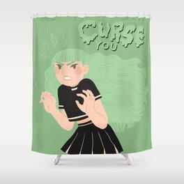 Curse you! Shower Curtain