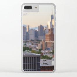 Brooklyn Evening Clear iPhone Case