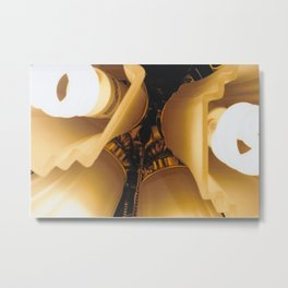 Close Up Light-Film Camera Metal Print