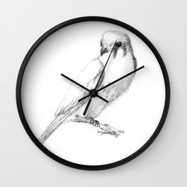 Kestrel quarter Wall Clock